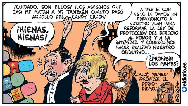 Viñeta de Bernardo Vergara en eldiario.es