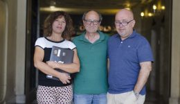 YOLANDA QUINTANA DE LA PDLI, DOGAN AKHANLI Y GONZALO BOYE EN MADRID