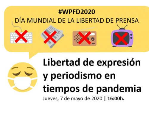 Debate: Libertad de información y periodismo en tiempos de pandemia